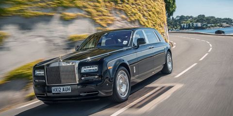 """<p>If there's any car that may possibly&nbsp;edge out the Bentley Mulsanne in terms of luxury,&nbsp;it's <a href=""""http://www.roadandtrack.com/new-cars/g302/photos-2013-rolls-royce-phantom-sedan/?"""" target=""""_blank"""">the Rolls-Royce Phantom</a>. It can be had as a coupe or a convertible, but the one you want is the sedan. That way you can relax in pure luxury, preferably with your feet on lambswool floor mats, while your driver handles the rest.</p>"""