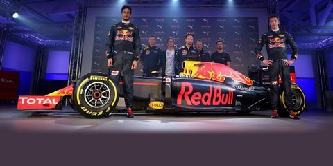 2016 Red Bull F1 Racing Livery