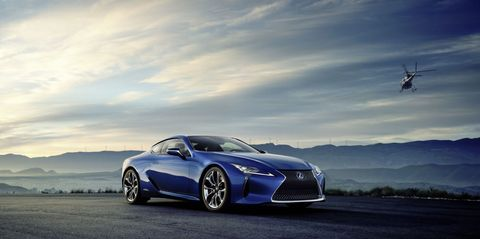 Lexus Will Make a Hybrid Version of the Gorgeous LC 500 Coupe