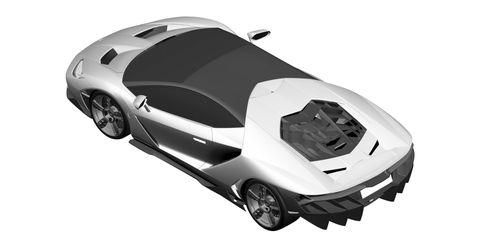 Lamborghini Patent