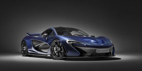 McLaren P1 special edition