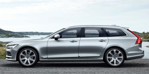 P Volvo S New Flagship S90 Sedan Makes The Transition To A Wagon Version Perfectly