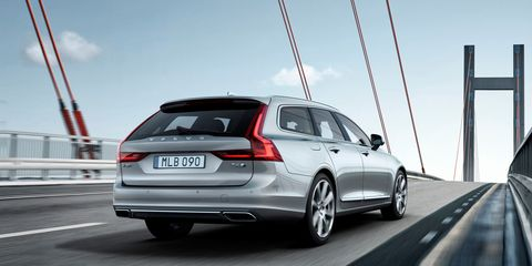 2017 Volvo V90 Here It Is In All Its Wagon Glory