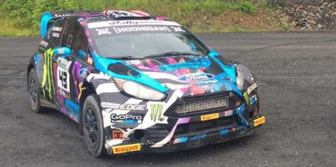 You Can Buy Ken Block S Ford Fiesta Rally Car Right Now