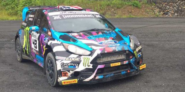 You Can Buy Ken Block's Ford Fiesta Rally Car Right Now