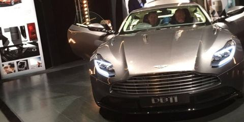 """<p>The Aston Martin DB9 feels like it's been around forever, mainly because it nearly has. <a href=""""http://www.roadandtrack.com/car-shows/geneva-auto-show/news/a28208/this-is-the-new-aston-martin-db11/"""">Replacing it is the DB11</a>, a brand-new car with a brand-new engine: a <a href=""""http://www.roadandtrack.com/car-culture/videos/a27861/aston-martin-drops-the-60-liter-v12-goes-twin-turbocharged/"""">5.2 liter twin-turbocharged V12</a>. Will it still feel like the classic 6.0 Aston V12? Only time will tell.</p>"""