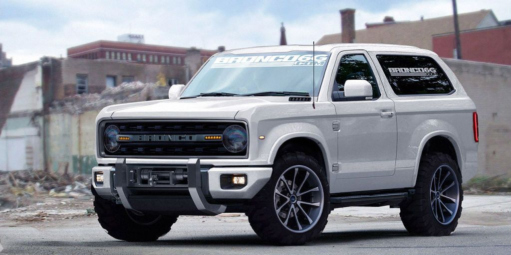 NAIAS Highlights: Ford Bronco Concept