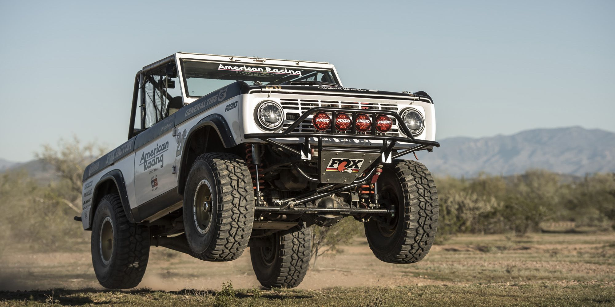 Vintage Bronco Desert Racing 1970 Ford Lifted