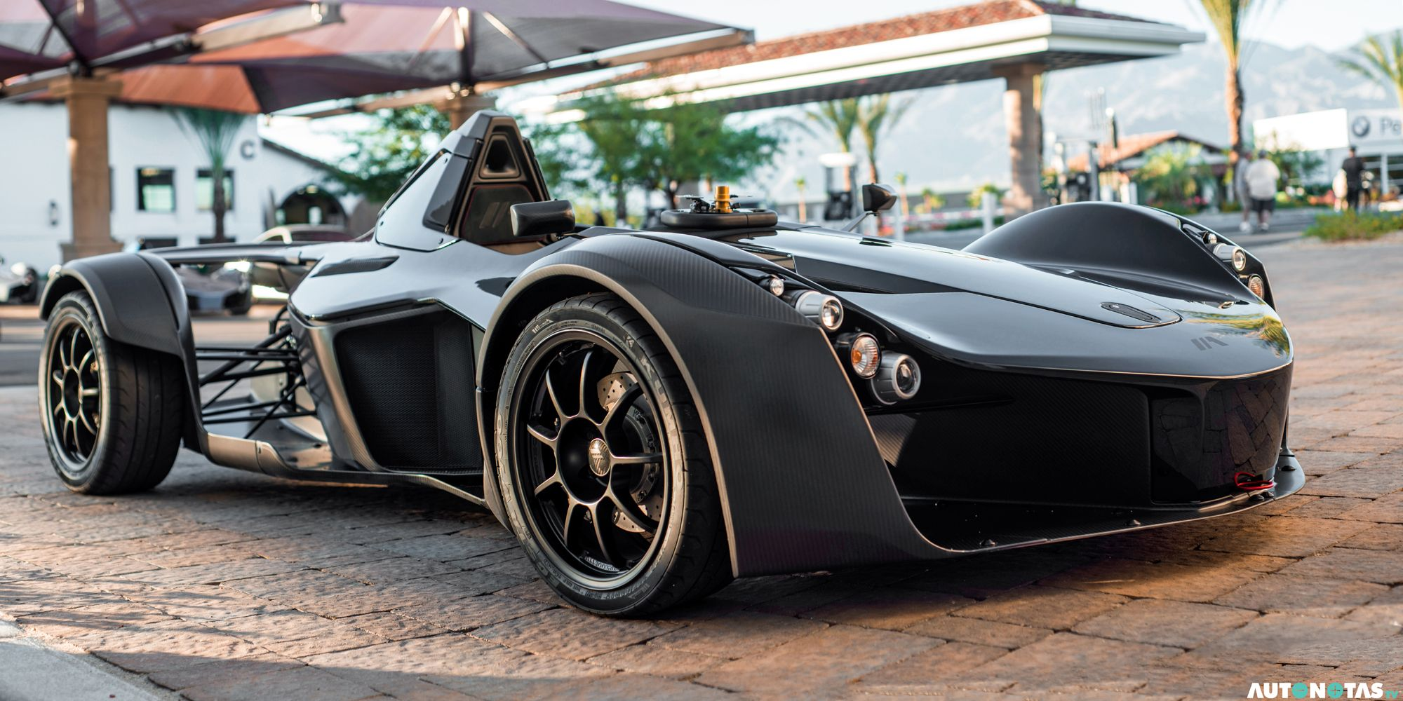 If you buy a BAC Mono, we hope all your friends have cars, too, because you sure won't be giving anyone a ride. As the name suggests, you only get one seat in the BAC Mono.
