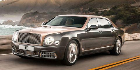 Bentley Mulsanna Extended Wheelbase