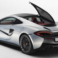 """<p>Take the excellent McLaren 570S, add a glass roof and large glass hatch, <a href=""""http://www.roadandtrack.com/car-shows/geneva-auto-show/news/a28281/mclaren-570gt-first-look/"""">and you have the 570GT</a>, a McLaren perfectly suited to grand touring. We can't wait to drive it.</p>"""