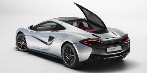 Take the excellent McLaren 570S, add a glass roof and large glass hatch, and you have the 570GT, a McLaren perfectly suited to grand touring. We can't wait to drive it.