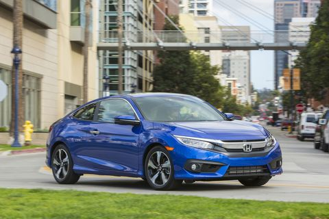 Honda Civic Coupe - First Drive
