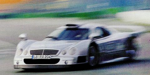 Mercedes Benz Clk Gtr A Race Car You Can Drive On The Street