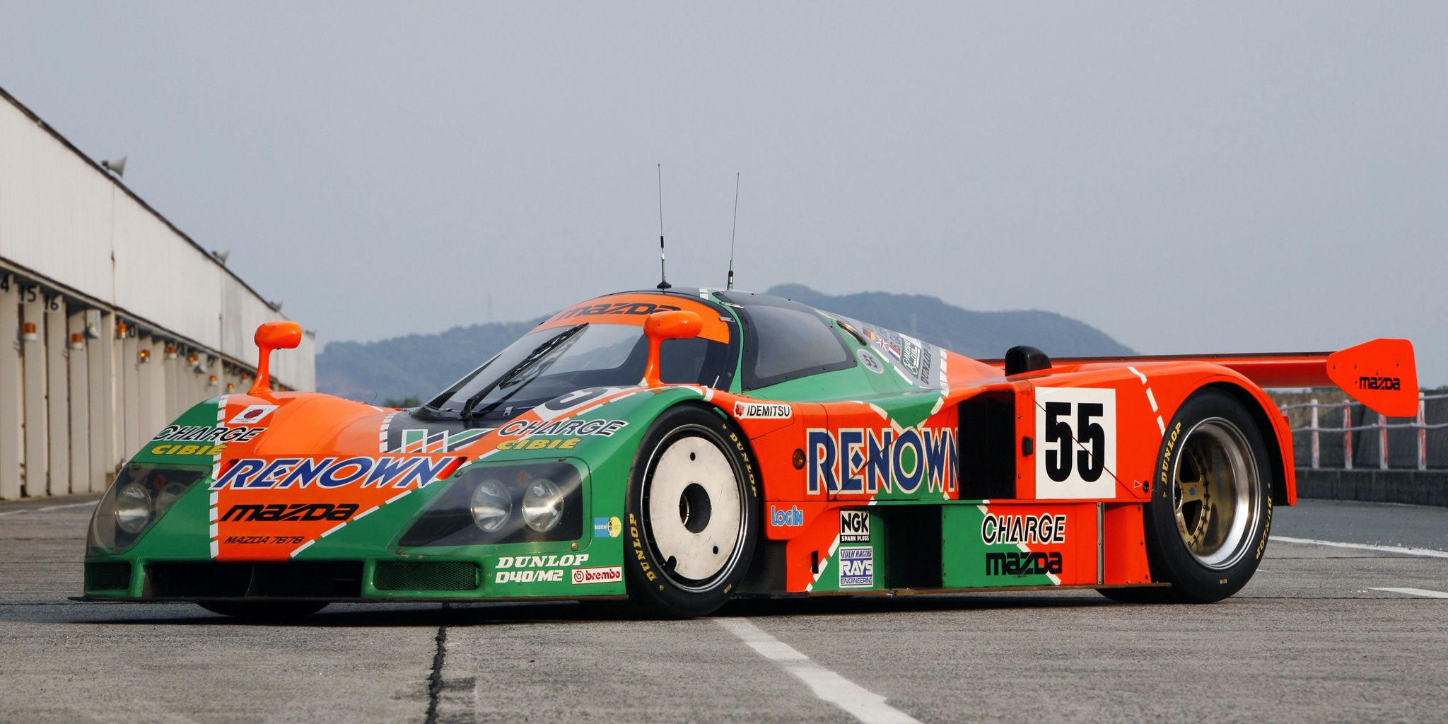 The Mazda 787B Sounds Like an Angry Swarm of Killer Bees