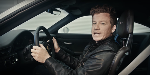 Porsche Racer Shows You How to Set a Perfect Driving Position