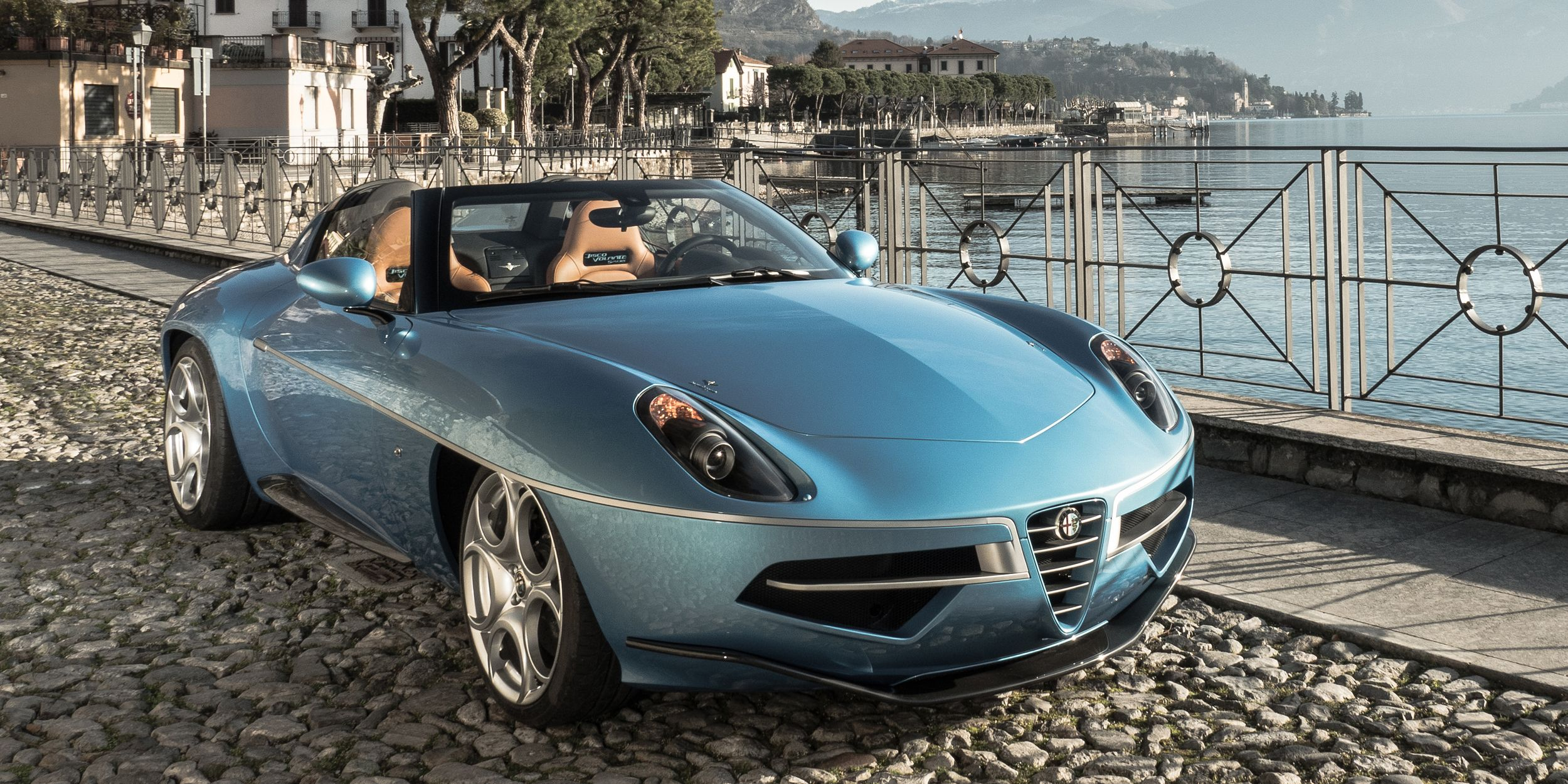Alfa Romeo Disco Volante Spyder First Look Road Track
