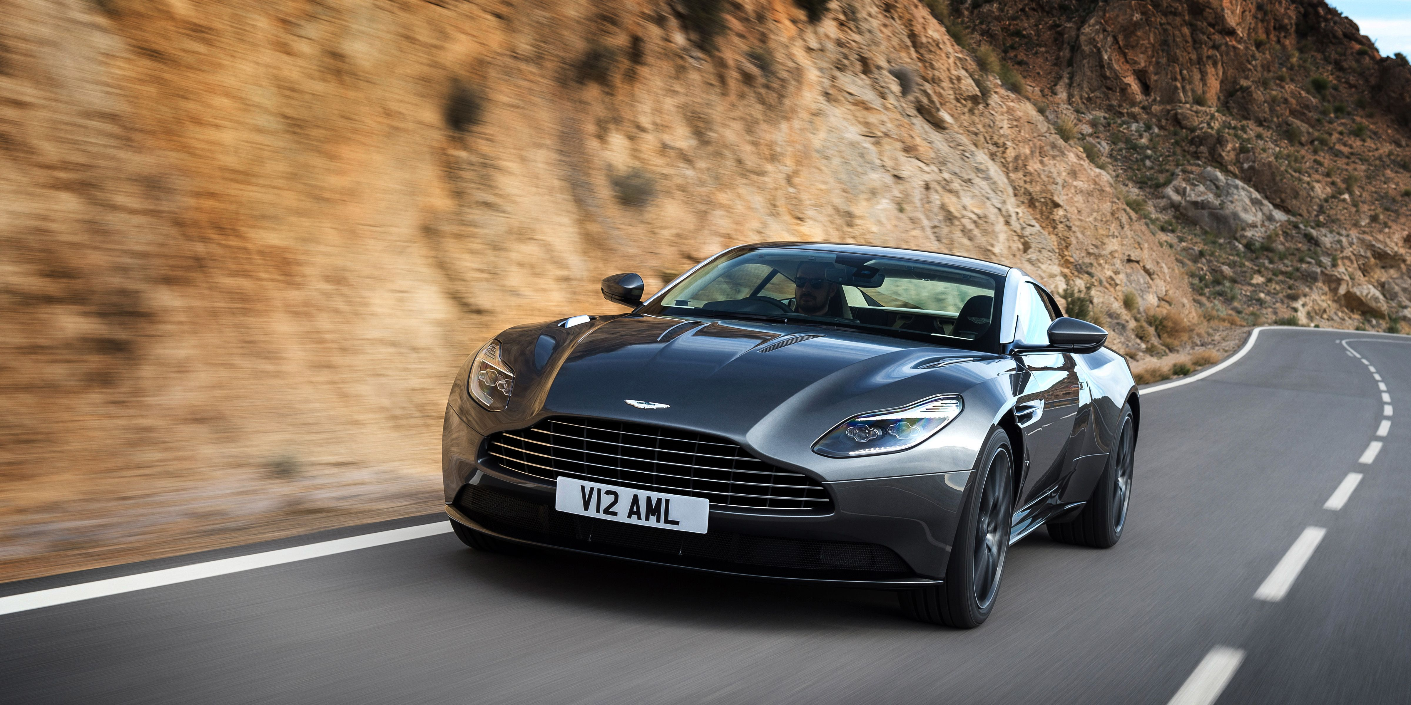 this is the twin-turbo v12, 600-hp aston martin db11
