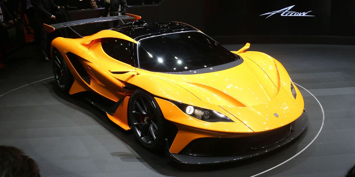 Apollo Arrow: The 1000-hp Freak Machine That Rose from Gumpert's Ashes