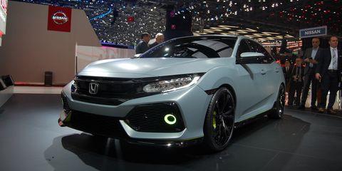 Civic Hatch prototype