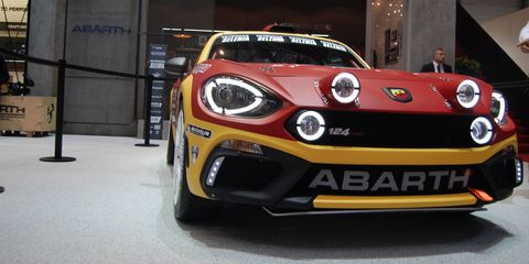Fiat Abarth Will Go Rallying With This 300 Hp Rwd 124 Spider