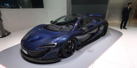 McLaren P1 Carbon I just blue myself