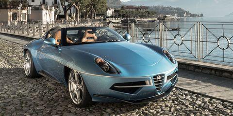 The Alfa Romeo Disco Volante Spyder Is a Gorgeous, Hand-Built Work of Art