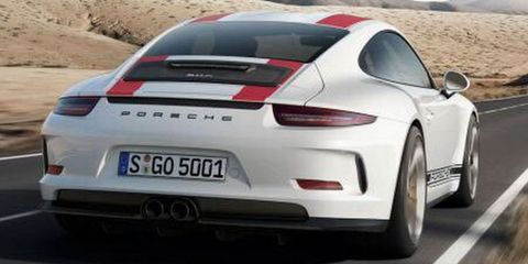 This Is the Manual-Only Porsche 911 R