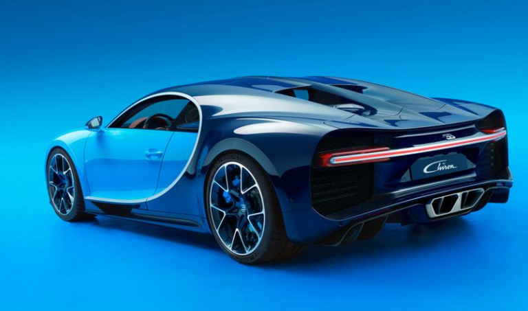 How fast is the bugatti chiron