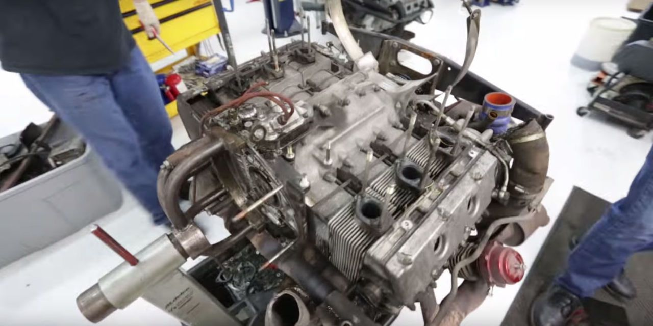 Watch An Extremely Detailed Teardown Of An Air Cooled Porsche 930 Turbo Engine