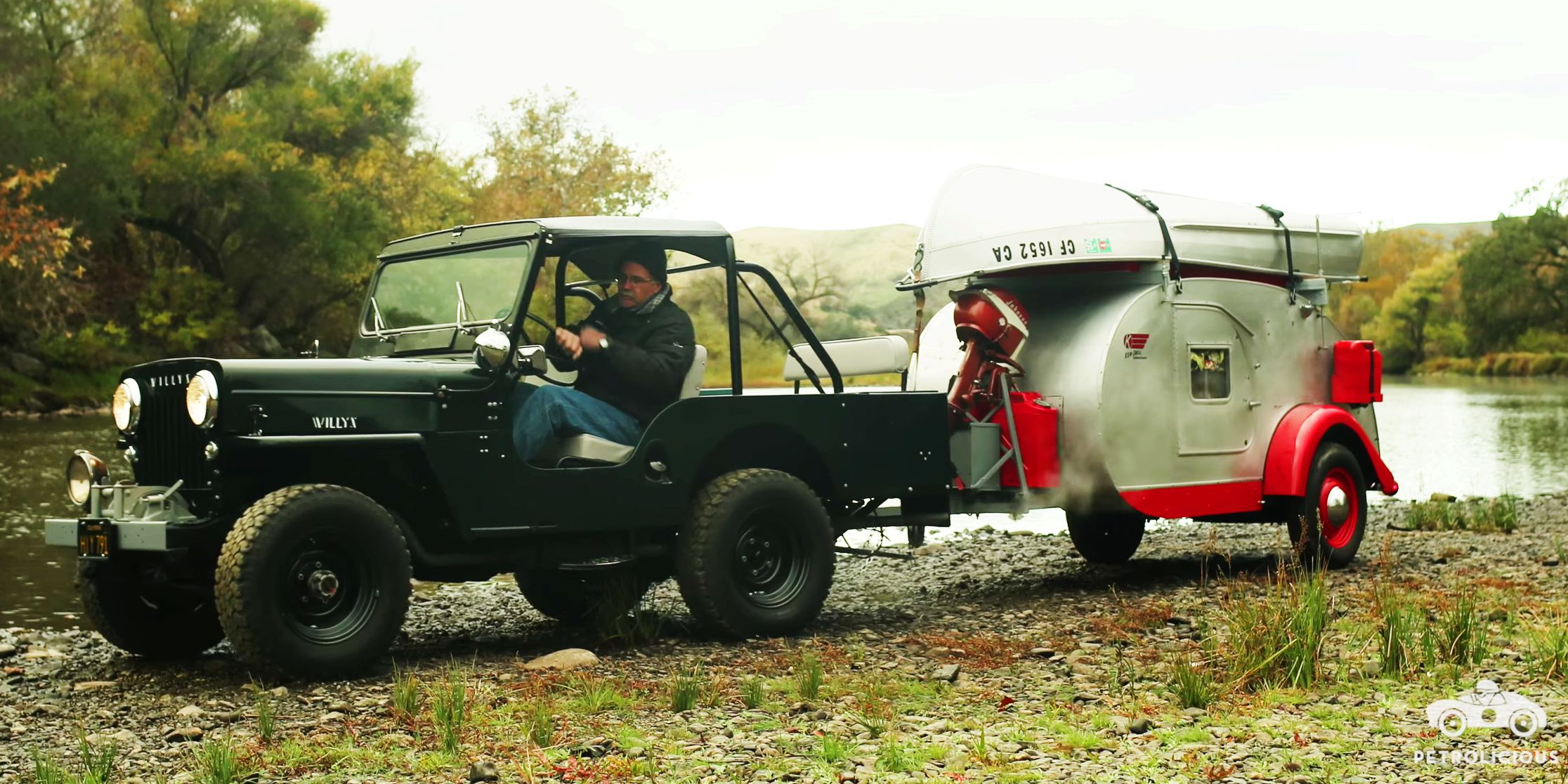 This Willys Jeep And Teardrop Camper Have Been Adventuring Since 1960 For Sale Used Before You Were Born