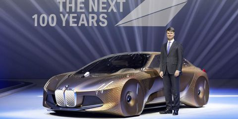 The BMW Vision Next 100 Is the Ultimate (Self) Driving Machine for 2116