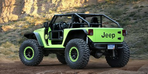 Yep Jeep Built A 707 Hp Hellcat Powered Wrangler For Easter Jeep Safari