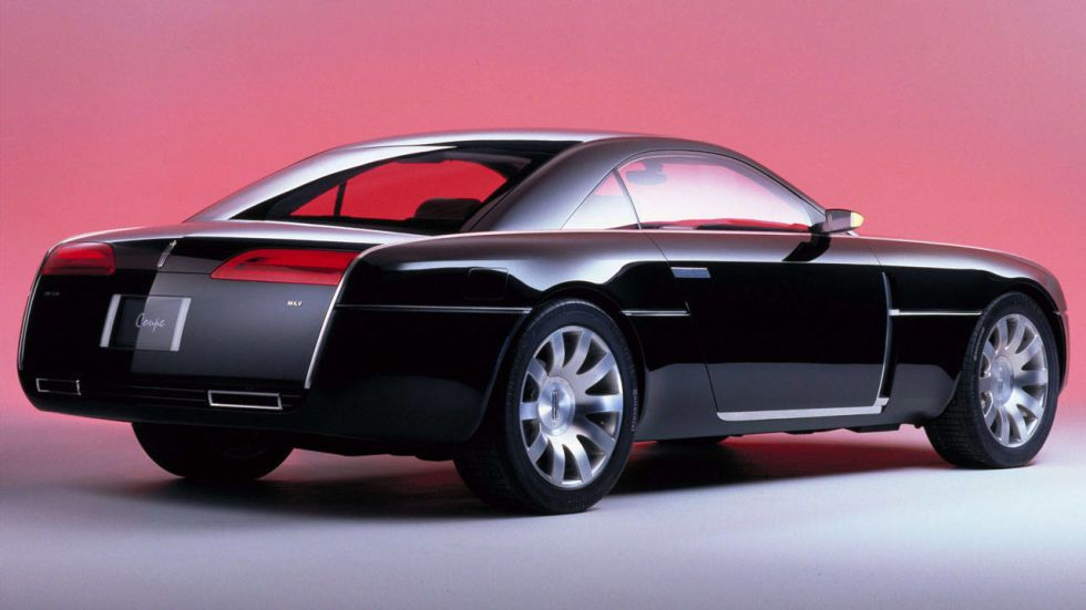 Lincoln coupe concept