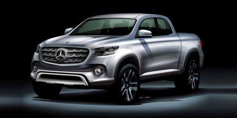Mercedes-Benz Pickup Truck Concept