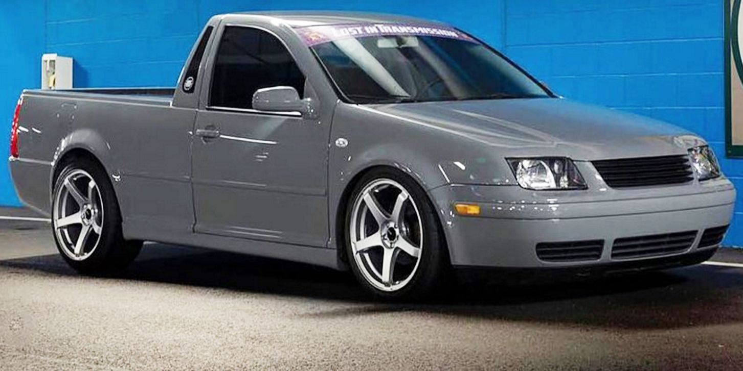 Watch A Guy Turn An Old Vw Jetta Into A Pickup Truck In Just 30