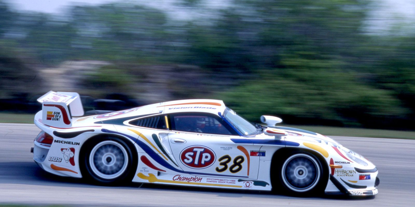 We Drove The Champion Racing Porsche 911 GT1, An Unexpected Frankenstein  Race Car Of Two Generations Of 911.