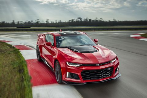 The New Camaro ZL1 Will Hit 60 mph in First Gear