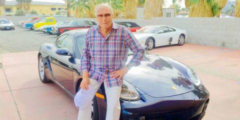 Adam West Porsche Cayman