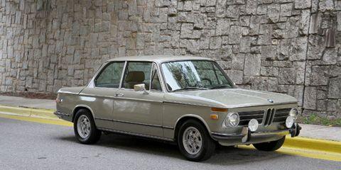 Alton Brown's 1971 BMW 2002