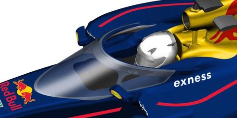 Red Bull Safety Canopy