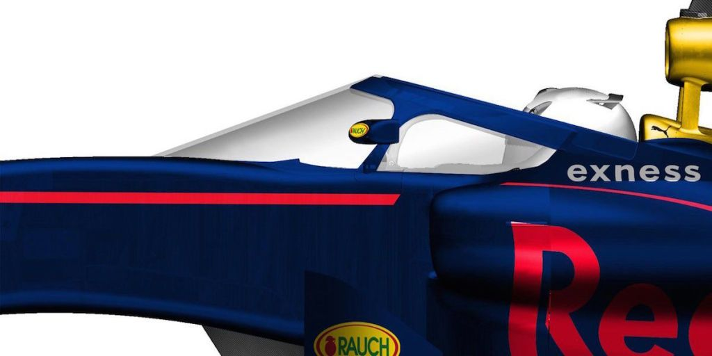 Red Bull Racing  sc 1 st  Road u0026 Track & Red Bullu0027s F1 Driver Canopy Design Is Basically a Conventional ...