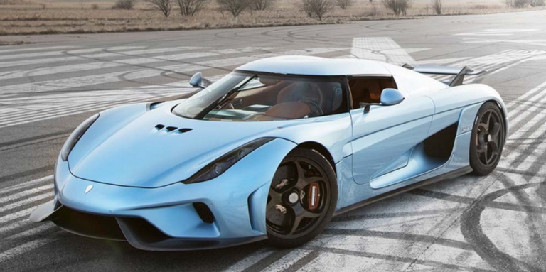 the koenigsegg regera can smoke its tires at 186 mph. Black Bedroom Furniture Sets. Home Design Ideas