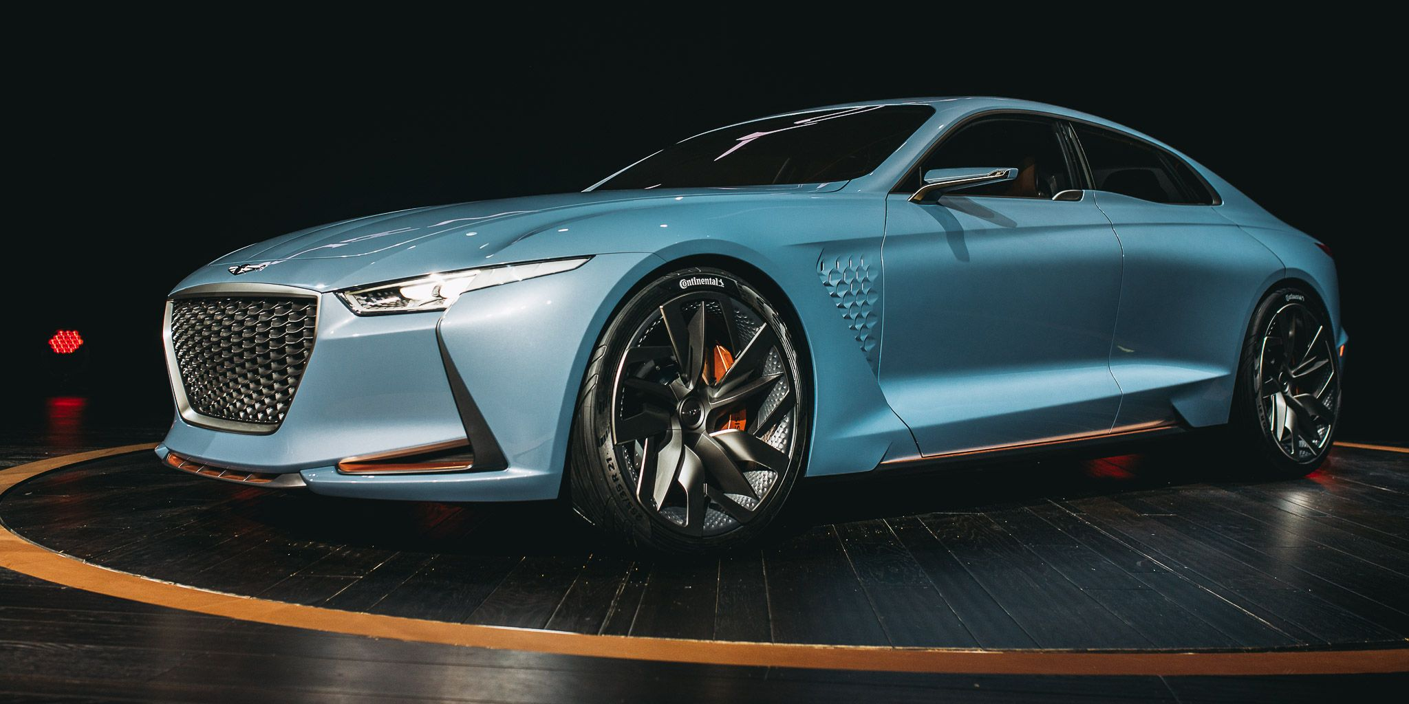 This Genesis New York Concept Is A Sleek Glimpse At Hyundai S Luxury Future