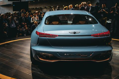 This Genesis New York Concept Is A Sleek Glimpse At Hyundais Luxury