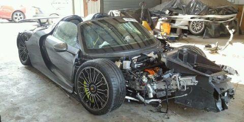 Wrecked 918 Spyder
