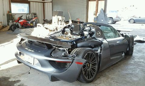 For Sale Lightly Used Porsche 918 Spyder Only 92 Miles