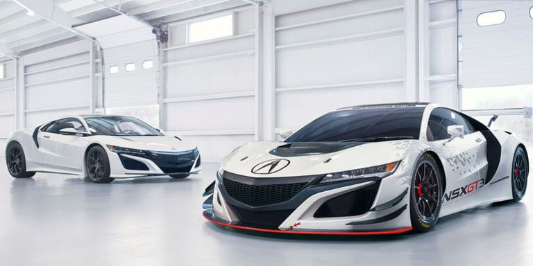 This Is the Rear-Drive Acura NSX GT3 Racer