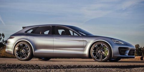 Porsche's Making a Panamera Shooting Brake, But Probably Just for Europe