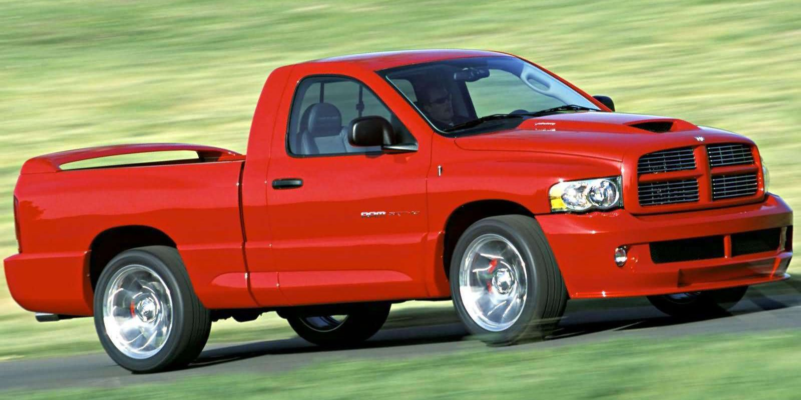 The Dodge Ram Srt 10 Was The First Hellcat
